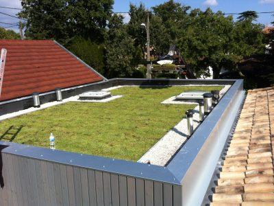 Étanchéité EPDM et végétalisation de toiture Taussat Lanton